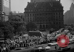 Image of movie tax protest in New York New York City USA, 1961, second 47 stock footage video 65675072269
