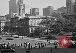 Image of movie tax protest in New York New York City USA, 1961, second 61 stock footage video 65675072269