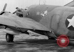 Image of loading airplane with movies for troops overseas New York United States USA, 1943, second 6 stock footage video 65675072285
