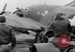 Image of loading airplane with movies for troops overseas New York United States USA, 1943, second 10 stock footage video 65675072285