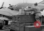 Image of loading airplane with movies for troops overseas New York United States USA, 1943, second 17 stock footage video 65675072285