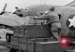 Image of loading airplane with movies for troops overseas New York United States USA, 1943, second 18 stock footage video 65675072285