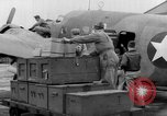 Image of loading airplane with movies for troops overseas New York United States USA, 1943, second 19 stock footage video 65675072285