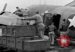 Image of loading airplane with movies for troops overseas New York United States USA, 1943, second 21 stock footage video 65675072285