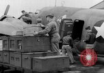 Image of loading airplane with movies for troops overseas New York United States USA, 1943, second 26 stock footage video 65675072285