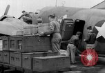 Image of loading airplane with movies for troops overseas New York United States USA, 1943, second 28 stock footage video 65675072285