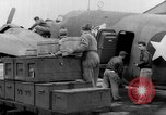 Image of loading airplane with movies for troops overseas New York United States USA, 1943, second 29 stock footage video 65675072285