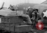 Image of loading airplane with movies for troops overseas New York United States USA, 1943, second 31 stock footage video 65675072285
