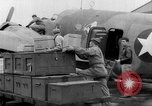 Image of loading airplane with movies for troops overseas New York United States USA, 1943, second 32 stock footage video 65675072285