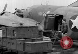 Image of loading airplane with movies for troops overseas New York United States USA, 1943, second 39 stock footage video 65675072285