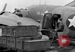 Image of loading airplane with movies for troops overseas New York United States USA, 1943, second 41 stock footage video 65675072285