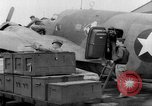 Image of loading airplane with movies for troops overseas New York United States USA, 1943, second 43 stock footage video 65675072285