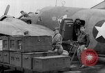 Image of loading airplane with movies for troops overseas New York United States USA, 1943, second 44 stock footage video 65675072285