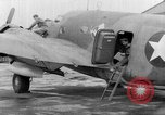 Image of loading airplane with movies for troops overseas New York United States USA, 1943, second 45 stock footage video 65675072285