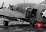 Image of loading airplane with movies for troops overseas New York United States USA, 1943, second 46 stock footage video 65675072285