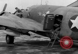 Image of loading airplane with movies for troops overseas New York United States USA, 1943, second 47 stock footage video 65675072285