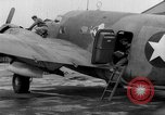 Image of loading airplane with movies for troops overseas New York United States USA, 1943, second 49 stock footage video 65675072285