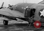 Image of loading airplane with movies for troops overseas New York United States USA, 1943, second 51 stock footage video 65675072285