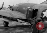 Image of loading airplane with movies for troops overseas New York United States USA, 1943, second 57 stock footage video 65675072285