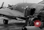Image of loading airplane with movies for troops overseas New York United States USA, 1943, second 58 stock footage video 65675072285