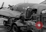 Image of loading airplane with movies for troops overseas New York United States USA, 1943, second 61 stock footage video 65675072285