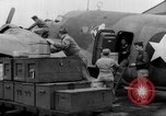 Image of loading airplane with movies for troops overseas New York United States USA, 1943, second 62 stock footage video 65675072285