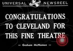 Image of Graham McNamee Cleveland Ohio USA, 1941, second 1 stock footage video 65675072293