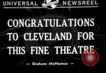 Image of Graham McNamee Cleveland Ohio USA, 1941, second 5 stock footage video 65675072293