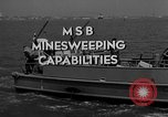 Image of moored minesweeping United States USA, 1958, second 2 stock footage video 65675072324