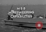Image of moored minesweeping United States USA, 1958, second 3 stock footage video 65675072324