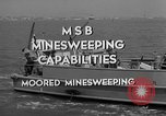 Image of moored minesweeping United States USA, 1958, second 4 stock footage video 65675072324