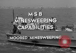 Image of moored minesweeping United States USA, 1958, second 5 stock footage video 65675072324