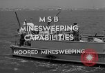 Image of moored minesweeping United States USA, 1958, second 6 stock footage video 65675072324