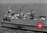 Image of moored minesweeping United States USA, 1958, second 20 stock footage video 65675072324