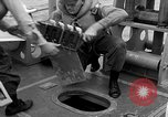 Image of moored minesweeping United States USA, 1958, second 35 stock footage video 65675072324