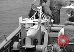 Image of moored minesweeping United States USA, 1958, second 37 stock footage video 65675072324