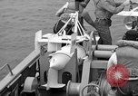 Image of moored minesweeping United States USA, 1958, second 38 stock footage video 65675072324