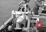 Image of moored minesweeping United States USA, 1958, second 39 stock footage video 65675072324