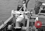 Image of moored minesweeping United States USA, 1958, second 40 stock footage video 65675072324