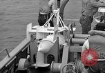 Image of moored minesweeping United States USA, 1958, second 41 stock footage video 65675072324