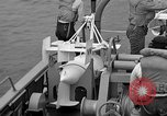 Image of moored minesweeping United States USA, 1958, second 43 stock footage video 65675072324