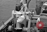 Image of moored minesweeping United States USA, 1958, second 44 stock footage video 65675072324