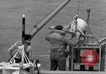Image of moored minesweeping United States USA, 1958, second 48 stock footage video 65675072324