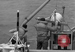 Image of moored minesweeping United States USA, 1958, second 49 stock footage video 65675072324