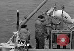 Image of moored minesweeping United States USA, 1958, second 52 stock footage video 65675072324