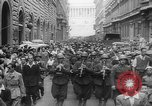 Image of liberation of Rome Rome Italy, 1944, second 28 stock footage video 65675072375