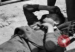 Image of wounded Allied soldiers Monte Cassino Italy, 1944, second 7 stock footage video 65675072377