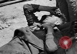 Image of wounded Allied soldiers Monte Cassino Italy, 1944, second 11 stock footage video 65675072377