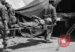 Image of wounded Allied soldiers Monte Cassino Italy, 1944, second 14 stock footage video 65675072377