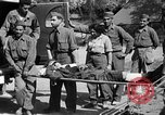 Image of wounded Allied soldiers Monte Cassino Italy, 1944, second 32 stock footage video 65675072377